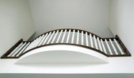 räcke för balkongjulietloft Arkivfoton