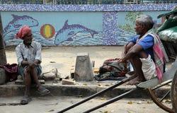 Rckshaw-Fahrer Lizenzfreies Stockfoto