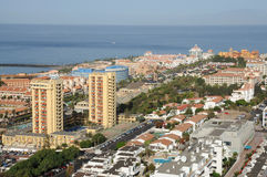 Rücksortierung Los Cristianos. Tenerife, Spanien Stockfoto