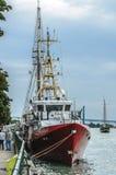 RCMP巡逻艇 免版税库存图片