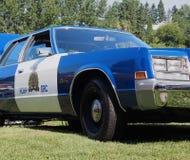 RCMP警车 库存照片