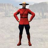 RCMP #03 Royalty Free Stock Photo