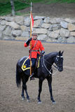 RCMP. Pictue of the famous RCMP Royal Canadian Mounted Police Royalty Free Stock Images
