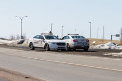 RCMP Cruiser or Squad Card Stock Image