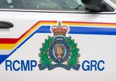 RCMP-embleem Stock Foto
