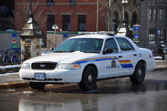 RCMP Ford Crown Victoria Police Car in Ottawa, Canada stock photos