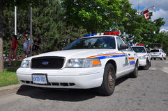 RCMP Ford Crown Victoria Police Car in Ottawa, Canada stock photo