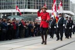 RCMP Grüße Lizenzfreies Stockbild