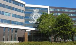 RCMP kwatery główne Zdjęcia Stock