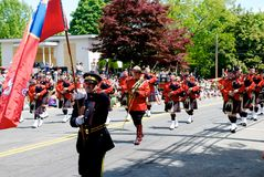 RCMP march Royalty Free Stock Image