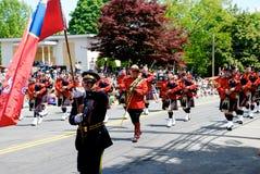 RCMP Marsch Lizenzfreies Stockbild