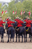 RCMP Musical Ride in Ancaster, Ontario Stock Photography