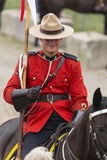 RCMP Musical Ride in Ancaster, Ontario Royalty Free Stock Photos