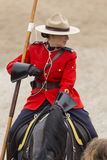 RCMP Musical Ride in Ancaster, Ontario Royalty Free Stock Photos