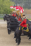 RCMP Musical Ride in Ancaster, Ontario Royalty Free Stock Image