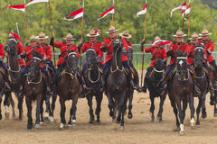 RCMP Musical Ride in Ancaster, Ontario Stock Images