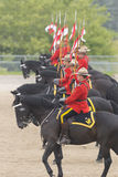 RCMP Musical Ride in Ancaster, Ontario Royalty Free Stock Photo