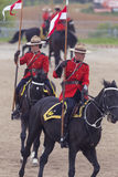 RCMP Musical Ride in Ancaster, Ontario Stock Photos
