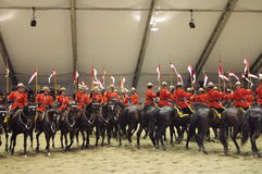 RCMP Musical Ride Royalty Free Stock Images