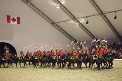 RCMP Musical Ride Stock Image