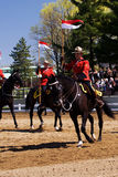 RCMP Musical Ride Review Stock Photo