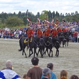 RCMP Musical Ride Show 2013 Royalty Free Stock Images