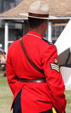 RCMP Officer Royalty Free Stock Photography
