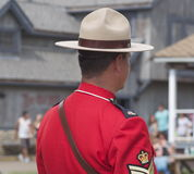RCMP Officer Royalty Free Stock Images