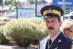 RCMP oficer Zdjęcie Stock