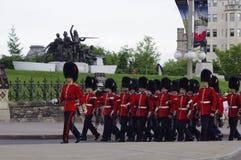 RCMP orkiestra marsszowa Obraz Royalty Free