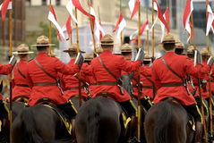 RCMP Riders stock photos
