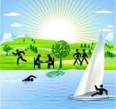 Récréation et sport Image stock