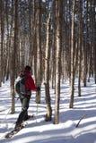 Récréation extérieure d'hiver - Canada Photos stock