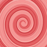 Röd abstrakt glansig swirl för vektoryoghurtkräm och Arkivbild
