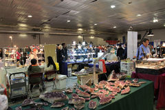 23rd Annual Toronto Jem and Mineral Show Stock Photography