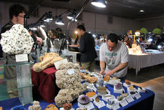 23rd Annual Toronto Jem and Mineral Show Stock Photo