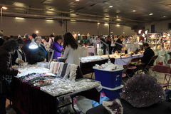 23rd Annual Toronto Jem and Mineral Show Stock Images