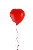 Röd ballong Arkivfoto