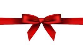 Röd bow Royaltyfri Foto