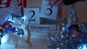 23rd December Date Blocks Advent Calendar