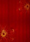 Röd designbakgrund Royaltyfria Bilder