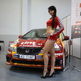 3rd edition of MOTO SHOW in Cracow Poland. Royalty Free Stock Image