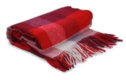 Röd filt Royaltyfria Foton
