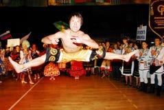 23rd folkloru Międzynarodowy festiwal w Izrael Obrazy Royalty Free