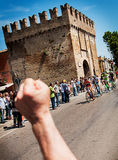 98 rd Giro d Italia (Tour of Italy) -  Cycling Royalty Free Stock Photography