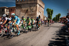 98 rd Giro d Italia (Tour of Italy) -  Cycling Royalty Free Stock Photos