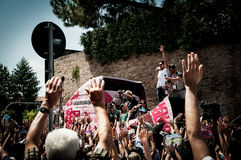 98 rd Giro d Italia (Tour of Italy) -  Cycling Royalty Free Stock Image