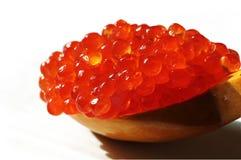 Röd kaviar Arkivfoto