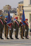 3rd Kielce Memory March at celebration 76th anniversary of Katyn Royalty Free Stock Images