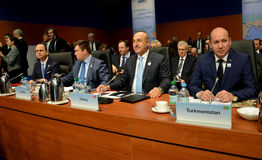 23rd OSCE Ministerialna rada w Hamburg Obrazy Royalty Free